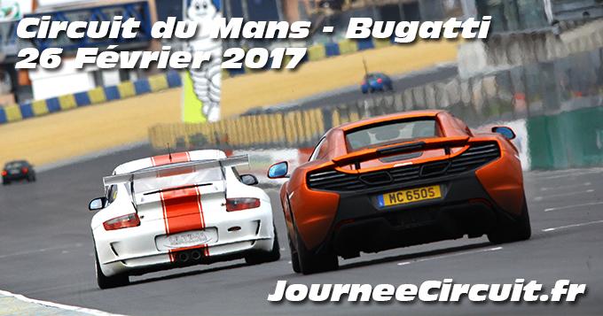 Photos au circuit du Mans le 26 Février 2017