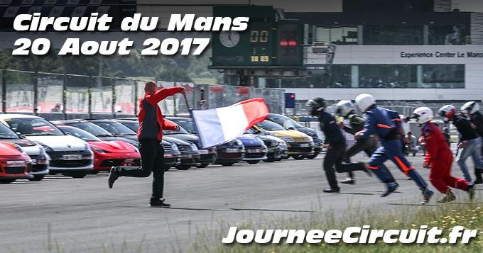 Photos au circuit du Mans le 20 Aout 2017