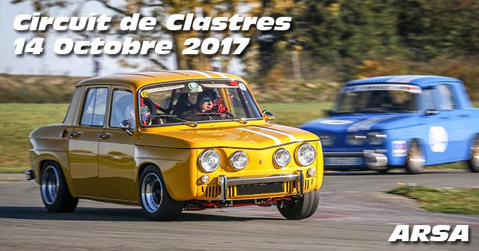 Photos au circuit de Clastres le 14 Octobre 2017