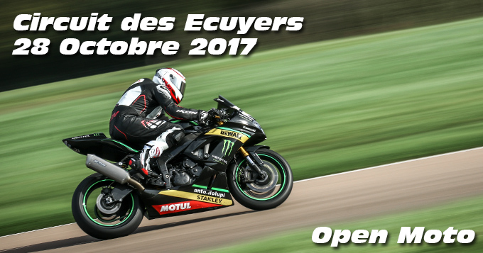 Photos au circuit des Ecuyers le 28 Octobre 2017