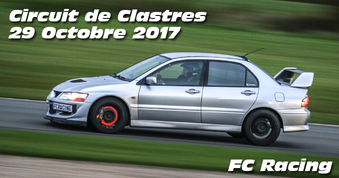 Photos au circuit de Clastres le 29 Octobre 2017