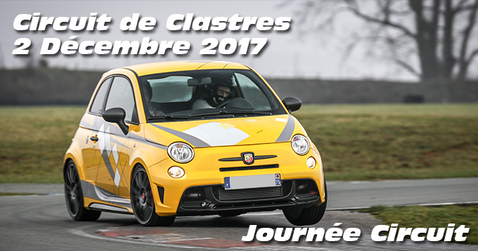 Photos au circuit de Clastres le 02 Décembre 2017