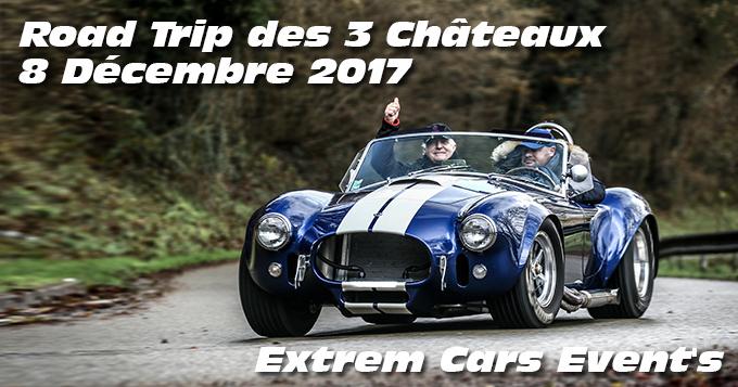 Photos du Road trip des 3 chateaux le 08 Décembre 2017