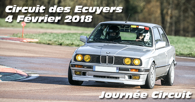 Photos au Circuit des Ecuyers le 04 Février 2018