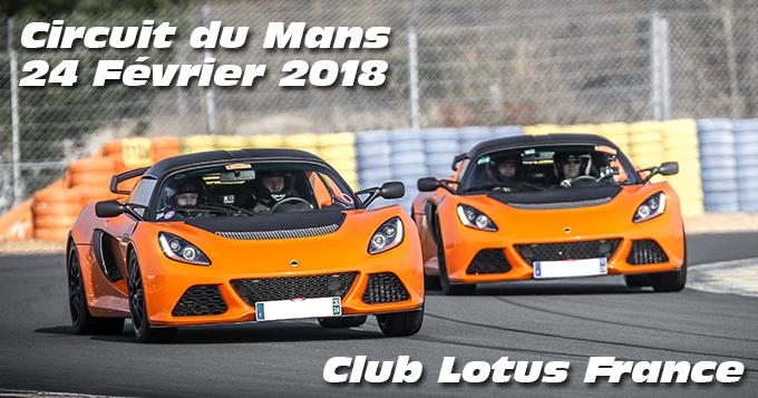 Photos au Circuit du Mans le 24 Février 2018