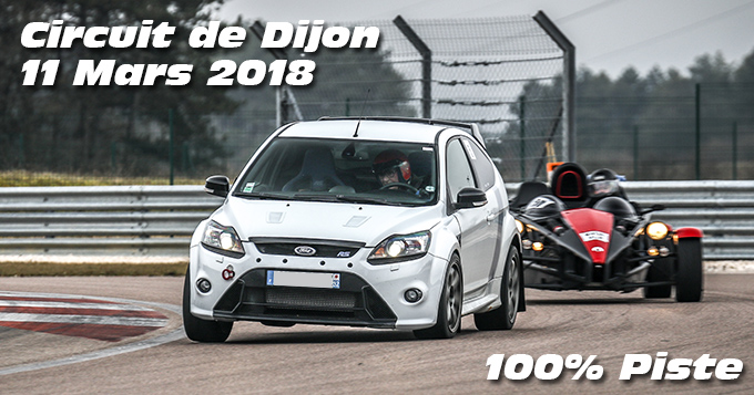 Photos au Circuit de Dijon Prenois le 11 Mars 2018