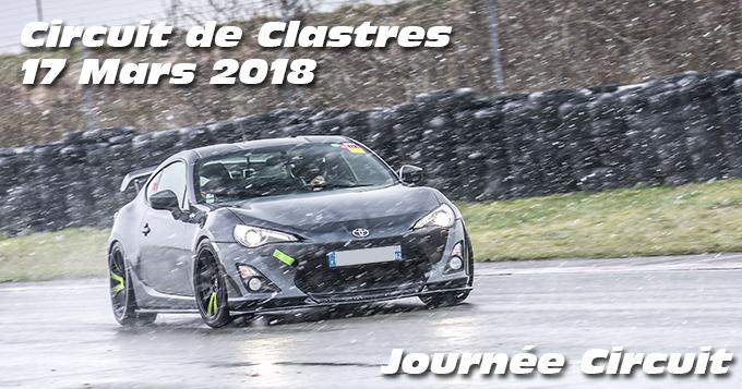 Photos au Circuit de Clastres le 17 Mars 2018
