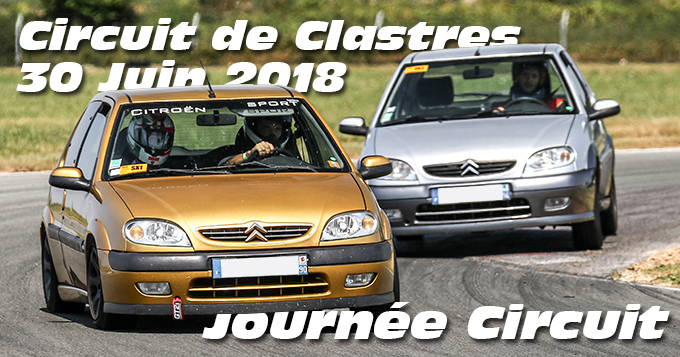 Photos au Circuit de Clastres le 30 Juin 2018
