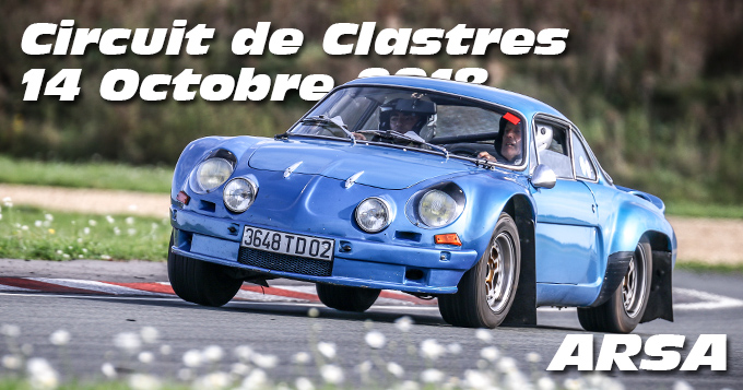 Photos au Circuit de Clastres le 14 Octobre 2018