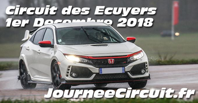 Photos au Circuit des Ecuyers le 01 Décembre 2018