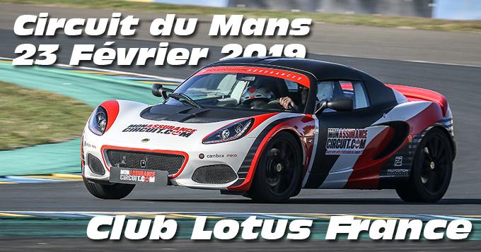Photos au Circuit du Mans le 23 Février 2019