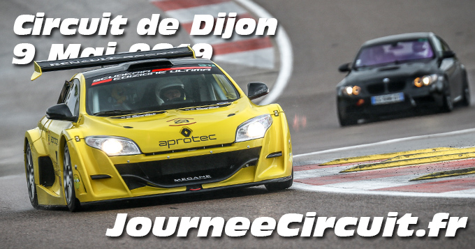 Photos au Circuit de Dijon Prenois le 09 Mai 2019