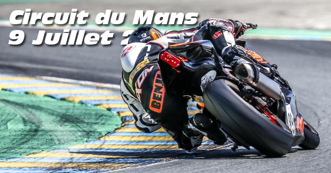 Photos au Circuit du Mans le 09 Juillet 2019