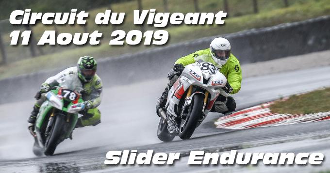 Photos au Circuit du Val de Vienne le 11 Aout 2019 avec Slider Endurance