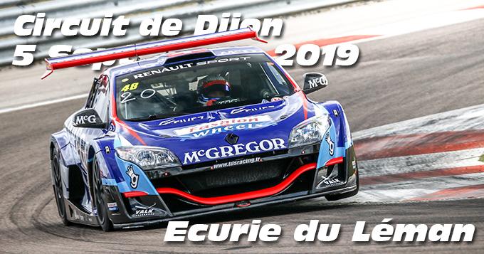 Photos au Circuit de Dijon Prenois le 5 Septembre 2019 avec Ecurie du Leman