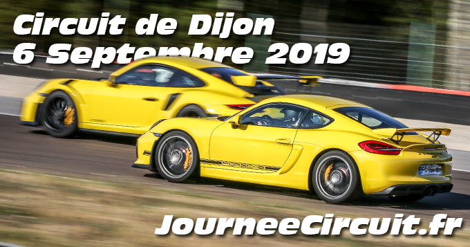 Photos au Circuit de Dijon Prenois le 6 Septembre 2019 avec Journee Circuit