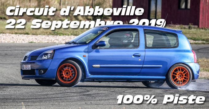 Photos au Stadium d'Abbeville le 22 Septembre 2019 avec 100% Piste