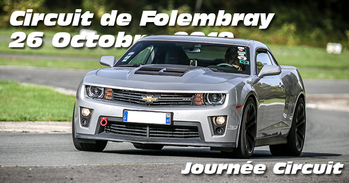 Photos au Circuit de Folembray le 26 Octobre 2019 avec Journee Circuit