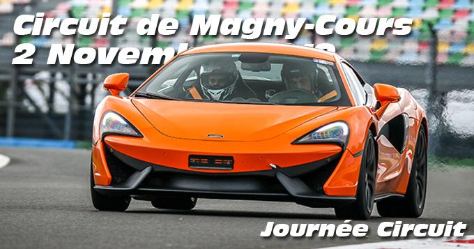 Photos au Circuit de Magny-Cours le 2 Novembre 2019 avec Journee Circuit