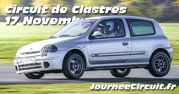 Photos au Circuit de Clastres le 17 Novembre 2019 avec Journee Circuit