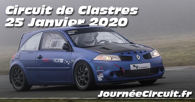 Photos au Circuit de Clastres le 25 Janvier 2020 avec Journee Circuit