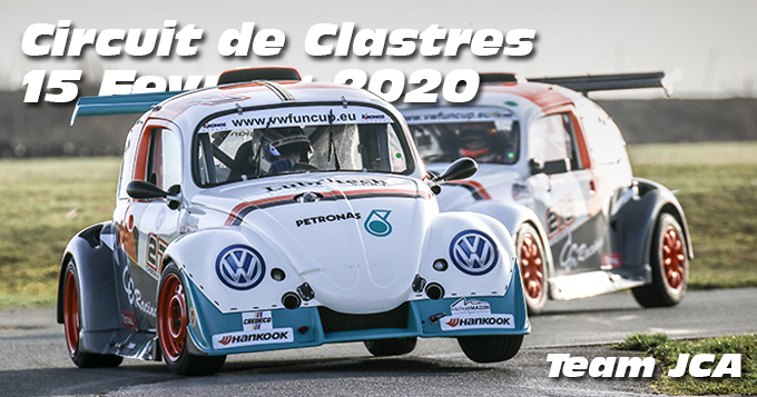 Photos au Circuit de Clastres le 15 Février 2020 avec Team JCA