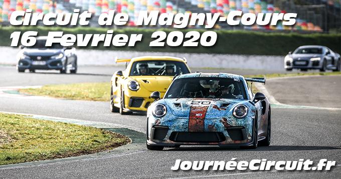Photos au Circuit de Magny-Cours le 16 Février 2020 avec Journee Circuit