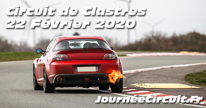 Photos au Circuit de Clastres le 22 Février 2020 avec Journee Circuit