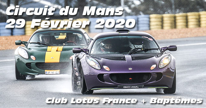 Photos au Circuit du Mans le 29 Février 2020 avec Pole Position assurances