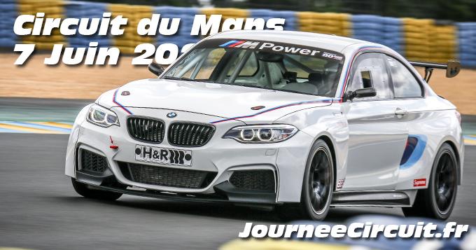 Photos au Circuit du Mans le 7 Juin 2020 avec Journee Circuit