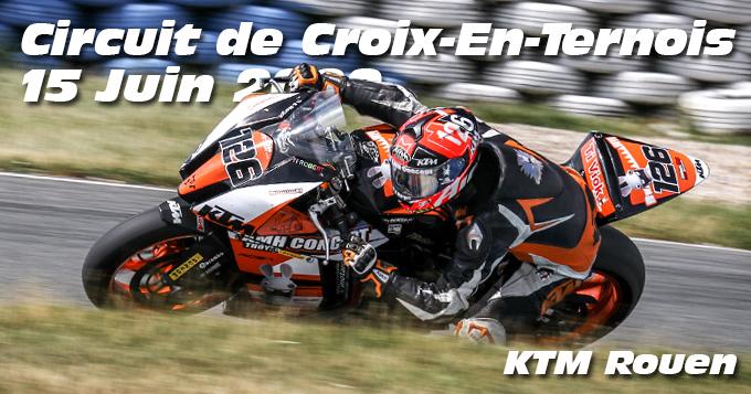 Photos au Circuit de Croix-En-Ternois le 15 Juin 2020 avec  KTM Rouen