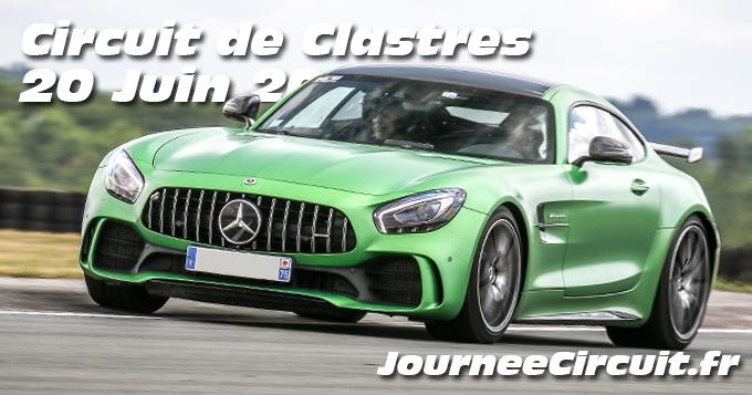 Photos au Circuit de Clastres le 20 Juin 2020 avec Journee Circuit