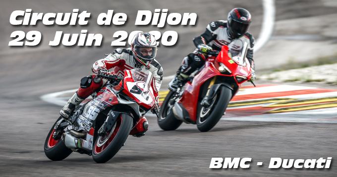 Photos au Circuit de Dijon Prenois le 29 Juin 2020 avec BMC Ducati