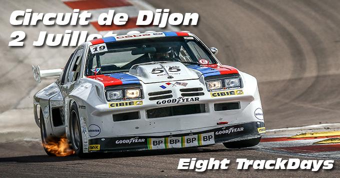 Photos au Circuit de Dijon Prenois le 2 Juillet 2020 avec Eight Trackdays