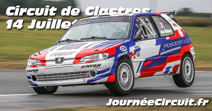 Photos au Circuit de Clastres le 14 Juillet 2020 avec Journee Circuit