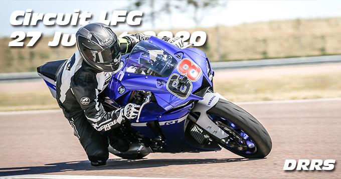 Photos au Circuit LFG de la Ferte Gaucher le 27 Juillet 2020 avec De Radigues Rider School