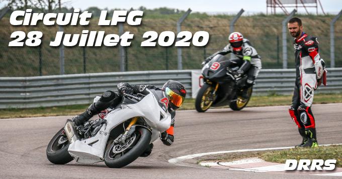 Photos au Circuit LFG de la Ferte Gaucher le 28 Juillet 2020 avec De Radigues Rider School