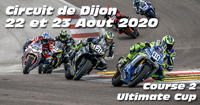 Photos au Circuit de Dijon Prenois le 22 Aout 2020 avec Ultimate Cup Moto