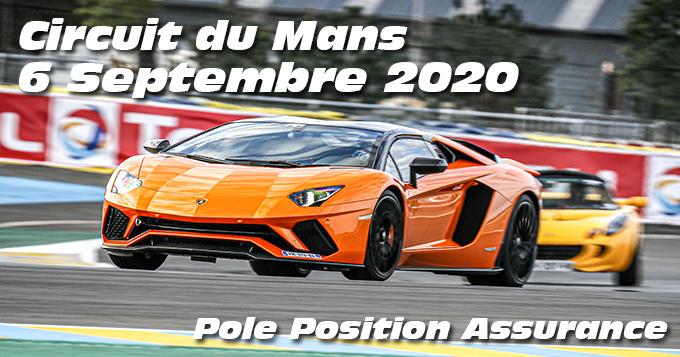 Photos au Circuit du Mans le 6 Septembre 2020 avec Pole Position assurances