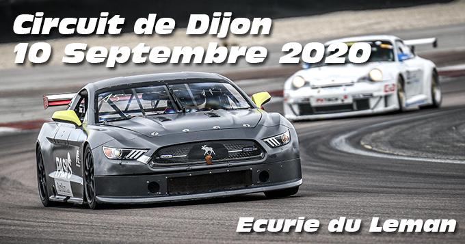 Photos au Circuit de Dijon Prenois le 10 Septembre 2020 avec Ecurie du Leman
