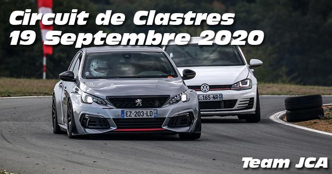 Photos au Circuit de Clastres le 19 Septembre 2020 avec Team JCA