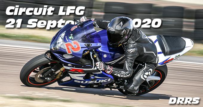 Photos au Circuit LFG de la Ferte Gaucher le 21 Septembre 2020 avec De Radigues Rider School