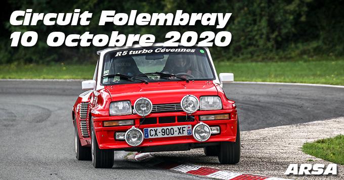 Photos au Circuit de Folembray le 10 Octobre 2020 avec ARSA Alpine et Renault