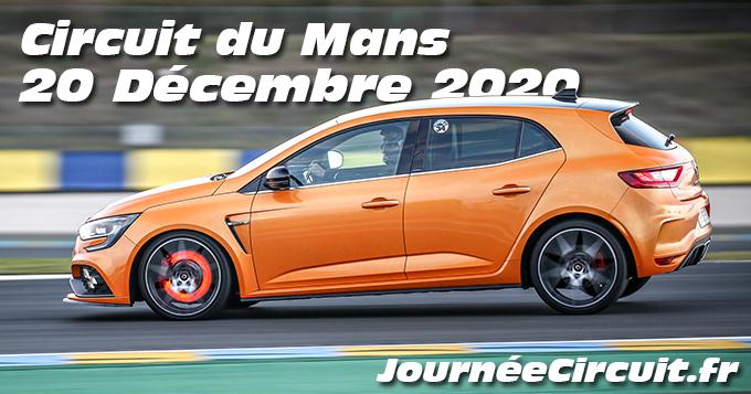 Photos au Circuit du Mans le 20 Décembre 2020 avec Journee Circuit