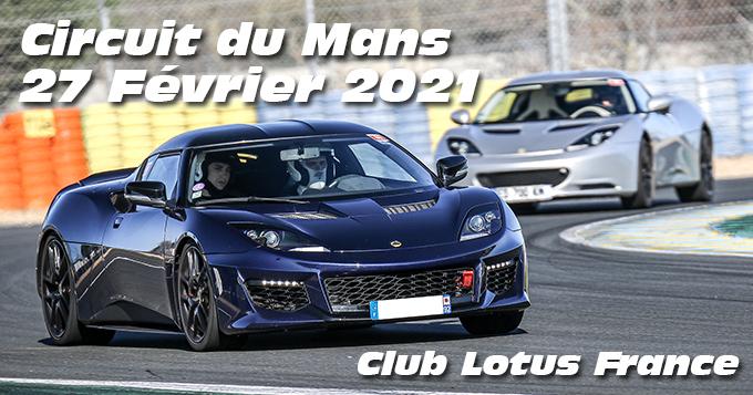 Photos au Circuit du Mans le 27 Février 2021 avec Pole Position assurances