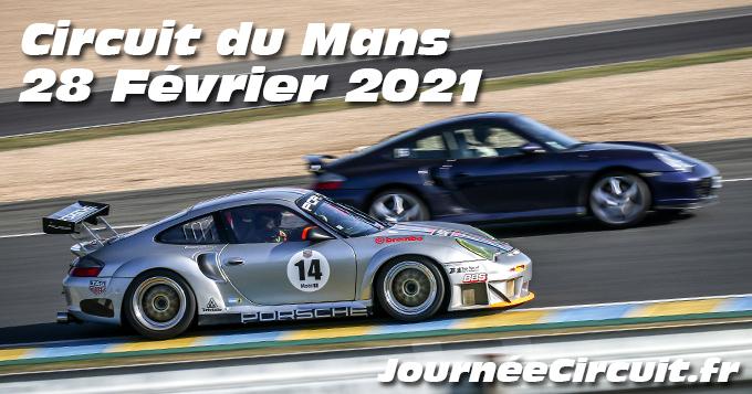 Photos au Circuit du Mans le 28 Février 2021 avec Journee Circuit
