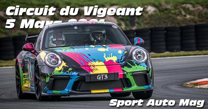 Photos au Circuit du Val de Vienne le 5 Mars 2021 avec Sport Auto