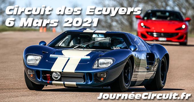 Photos au Circuit des Ecuyers le 6 Mars 2021 avec Journee Circuit