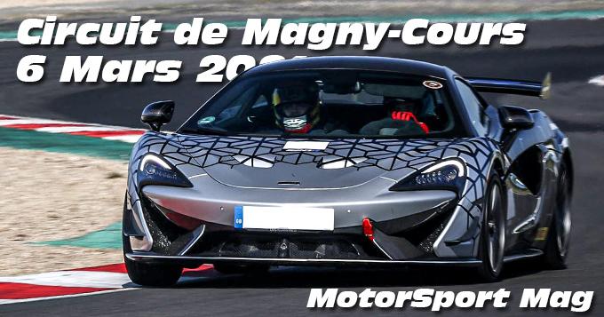 Photos au Circuit de Magny-Cours le 6 Mars 2021 avec MotorSport Magasine
