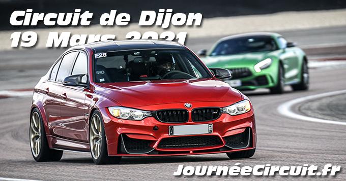 Photos au Circuit de Dijon Prenois le 19 Mars 2021 avec Journee Circuit